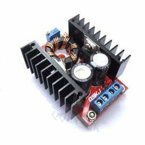 DC-10-32-switch-to-12-35V-150W-adjustable-boost-converter-UK-SELLER-0431