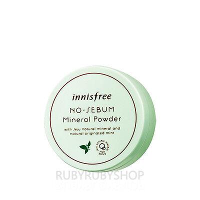 [INNISFREE] No Sebum Mineral Powder Mint - 5g
