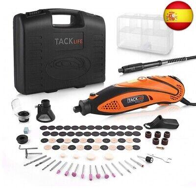 TACKLIFE Mini Amoladora Eléctrica Advanced Professional Kit de Herramientas