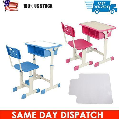 kids desk and chair set height adjustable