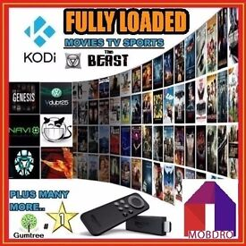 Amazon Fire Stick with Kodi & MOBDRO
