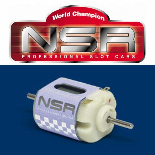 NSR 3005 Shark 1/32 Slot Car Can Sized 40,000 RPM Universal Motor 40K