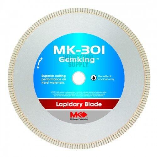 MK-301 166070 Gemking 14 Inch x .065 Inch x 1 Inch Wet Lapidary Diamond Blade