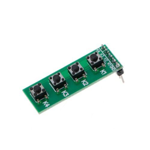 Key 4 Button Board For Arduino UNO MEGA2560 Pro Mini Nano Raspberry Pi