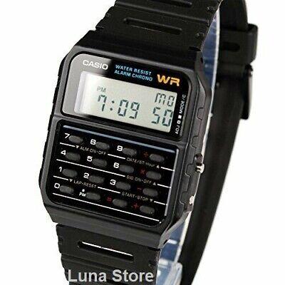 Reloj Digital CASIO CA-53W-1Z - Calculadora - Cronometro - Alarma Autocalendario