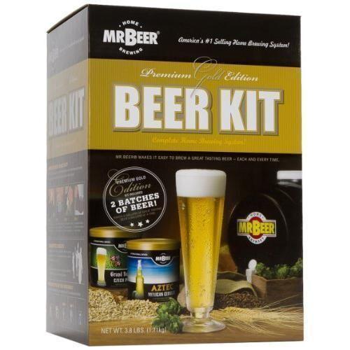 Mr. Beer Premium Gold Edition Beer Kit