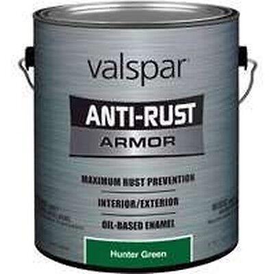 Hunter Green Enamel - NEW GALLON VALSPAR 6394290 HUNTER GREEN ANTI-RUST INDUSTRIAL ENAMEL OIL PAINT