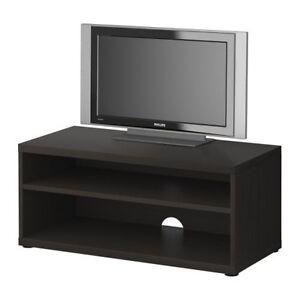 Black brown TV unit Ormond Glen Eira Area Preview