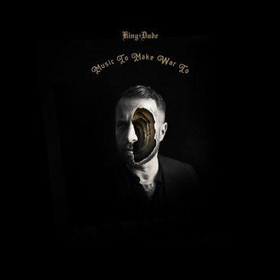KING DUDE - Music To Make War To LP Black Vinyl