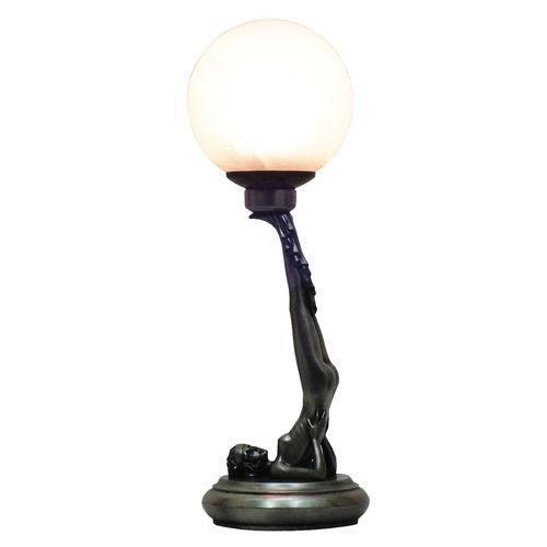 Art deco lamp ebay art deco figurine lamp mozeypictures Gallery