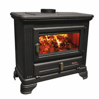 Drolet Jurassien Cast Iron Wood Stove