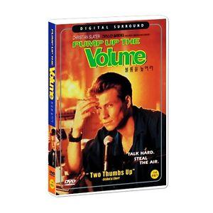 Pump Up The Volume (1990) DVD (Sealed) ~ Christian Slater *BRAND NEW*