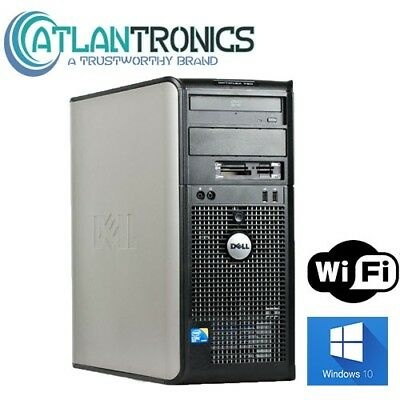 Dell Windows 10 Desktop Computer 1TB HDD | 8GB RAM | Wifi | 3.0GHz Processor