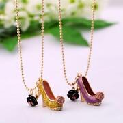 High Heel Necklace