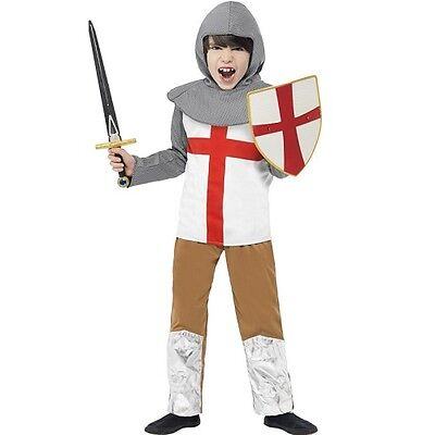 Kinder Horrible Histories Mittelalterlich st George Ritter Kostüm - St George Kostüm Kind