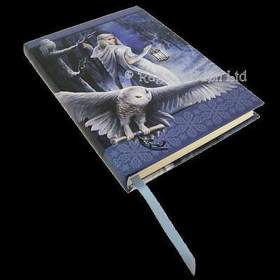 **MIDNIGHT MESSENGER** Anne Stokes Embossed Hardback Notebook Journal (17cm)