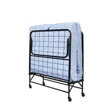 Fold Up Bed Portable Rollaway Foldable Fold Out Away ...