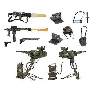 Aliens - Tercio Arsenal Armas Accesorio Pack Para Action Figures Neca