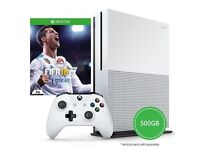 Xbox one 500gb with Fifa 18