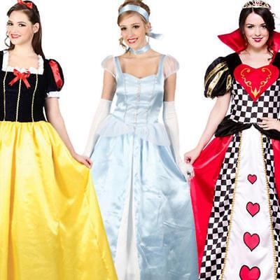 Fairytale Princess Ladies Book Week Costume Halloween Character Fancy Dress 6-24](Halloween Costumes Book Characters)