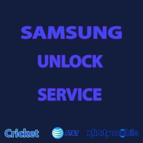 Note 10 s10 plus s10e ATT spectrum xfinity AT&T.. Unlock  service remote instant