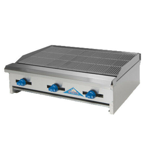 """Comstock Castle Erb30 30"""" Countertop Gas Charbroiler With Inverted """"v"""" Radiants"""