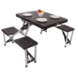 Folding Picnic Table and Chairs | eBay