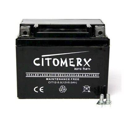 Motorrad Bike Roller Batterie 12V 5AH AGM REX RS 250 450 460 500 600 700 750 900