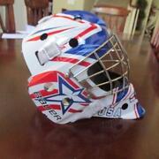 Used Goalie Mask