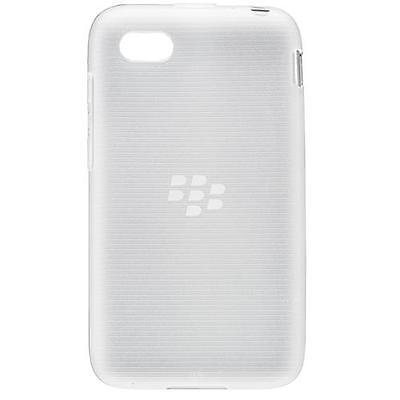 Originale Ufficiale BlackBerry Custodia Cover Guscio Morbido Per Q5 Trasparente