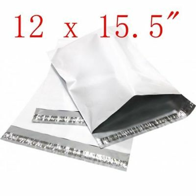 12 X 15.5 Poly Mailers Plastic Envelopes Shipping Bags 50 100 200 300 500 1000