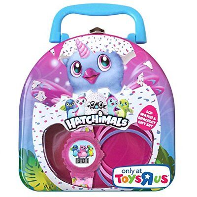 HATCHIMALS | LCD Watch & Bracelet Gift Set |  Toys-R-Us Exclusive | **NEW**