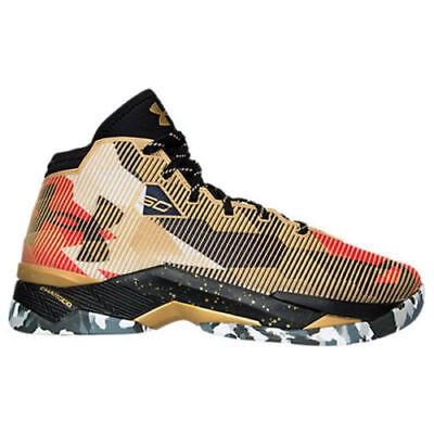 60840175160a Under Armour Curry UA 2.5 Gold Basketball Men s Shoes 1274425-777 Sz 11.5