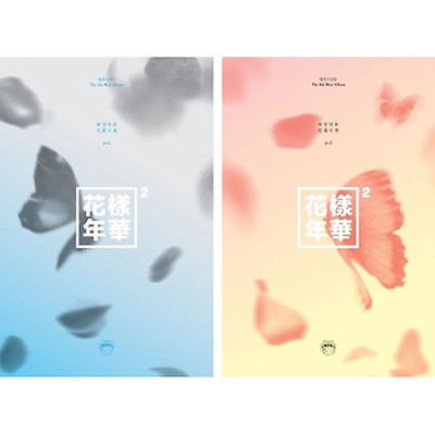 BTS [IN THE MOOD FOR LOVE PT.2] 4th Mini Album 2Ver SET+P.Book+Card K-POP SEALED