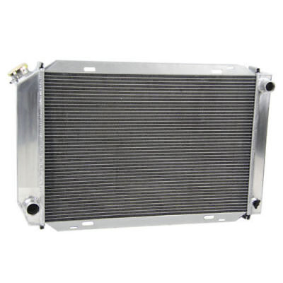3 CORES All ALUMINUM RADIATOR FIT 78 79 93 FORD MUSTANG MANUAL 3 ROW Tubes