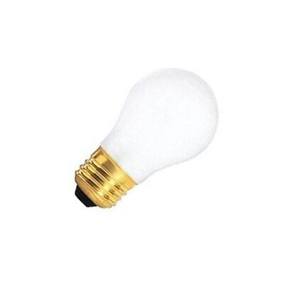 SATCO S3811 40W A15 130V E26 BASE FROSTED INCAND  APPLIANCE BULB (PACK OF 2) 130v A15 Light Bulb