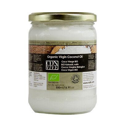 Olio Alimentare Di Cocco Vergine Biologico (Solido) - Naturale Al 100%