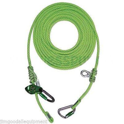 Tree Climber Flipline-lanyardcemoveable Prusikpulley Slack Tender7m23 Ft