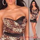 Leopard Party/Cocktail Animal Print Dresses for Women