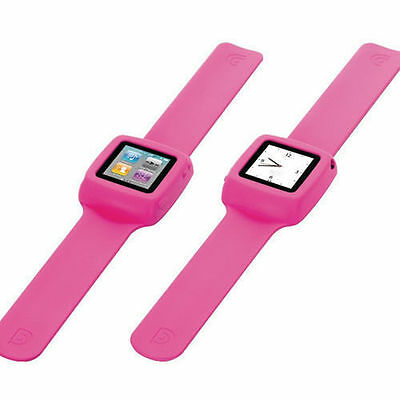 Griffin Pink Flexible Slap Wristband For Ipod Nano 6