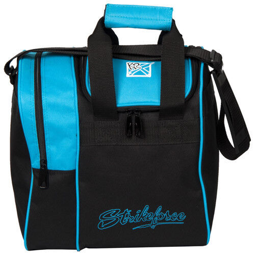 Kr Strikeforce Rook Single Tote 1 Ball Bowling Bag Aqua
