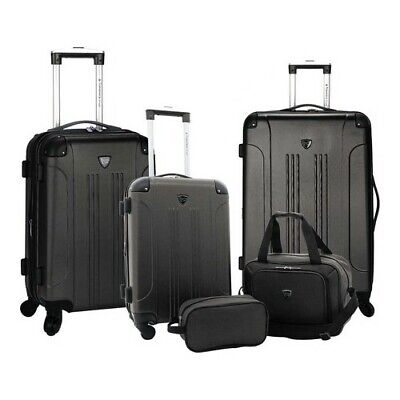 Travelers Club Unisex  5-Piece Luggage Value Set
