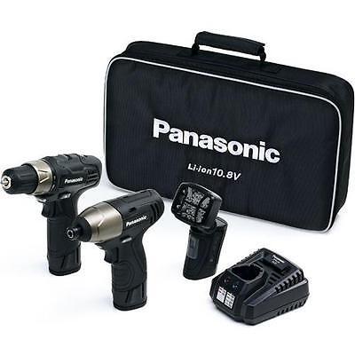 PANASONIC EYC110LA2L 10.8v Black Edition Lithium-ion Cordless 2 Piece Kit