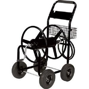 obo heavy duty water 300 39 garden hose reel cart 163152 ebay