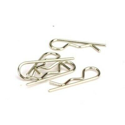 SGF-3S 1//16 1//10 Small Silver Body Clips Pins x 4 115mm