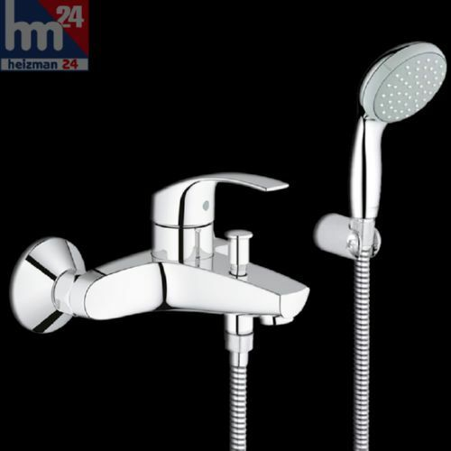 Grohe Eurosmart single lever bath mixer Set incl. Hand shower 33302002