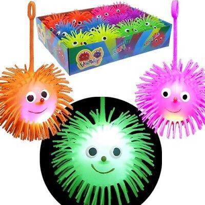 Flashing Smiley Face Puffer Yo Yo Balls Bulk Lot (Pack of - Flashing Smiley