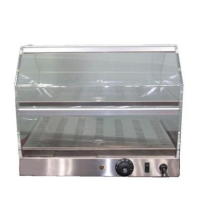 HEATED DISPLAY CABINET / PIE WARMER HOT FOOD SHOWCASE FRIED CHICKEN