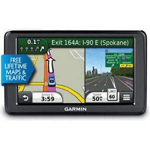 "Garmin Nuvi 2595LMT 5"" Portable Bluetooth GPS w/ Lifetime Maps & Traffic Refurb"