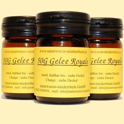 150g reines Gelee Royale + Analyse - 150g Gelee Royal